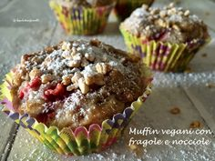 Muffin vegani alle fragole