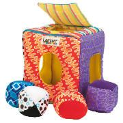 Lamaze Soft Sorter Young babies will love putting shapes in and taking them out and as baby grows they learn matching http://www.comparestoreprices.co.uk/baby-toys/lamaze-soft-sorter.asp