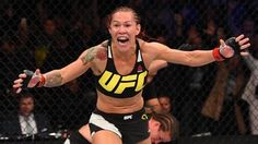WATCHTOWERCris Cyborg Destroys Opponent In UFC 198 Debut: Rousey Next?  Cris Cyborg wins in UFC debut with hellacious first-round TKO Cris Cyborg made short work of her first opponent in the UFC at Saturday nights (May 14) UFC 198 from her home country of Brazil.  Brazilian Cris Justino needed one minute and 20 seconds to knock out Leslie Smith of the United States in a womens bout at UFC 198 in Curitiba Southern Brazil on Saturday.  The Brazilian veteran now has a 16-fight winning streak…