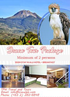 Travel with the Budget Expert. Our Professional Travel Agent would Love to assist you with all your travel needs. Travel to Philippines, America, Asia or the world we all have that at a very reasonable price. Hotel Breakfast, Davao, Philippines Travel, Traveling By Yourself, Asia, Tours, America, Phone, World