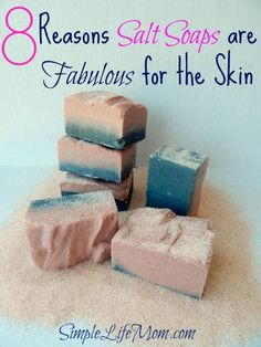 Salt Soap Bars or Spa Bars are fabulous for the skin. Salt Soap has great oils…