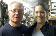 Fred Fenster with his UW Metals predecessor, Kim Cridler. A design for a kiddush cup and allen wrenches with golf ball handles for a b. Kiddush Cup, Metal Working, Metals, Studio, American, Golf Ball, Culture, Design, Metalworking