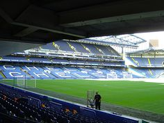 "Stamford Bridge - Chelsea Football Club (no ""soccer"" played here folks but major league footie..)"