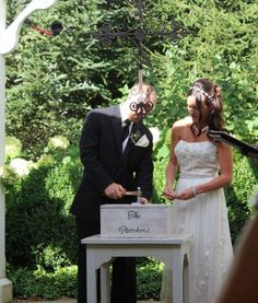 The wine box & love letter ceremony adds a 'visual' effect to your wedding ceremony (guests love it). Ask me how you can create your very own 'romantic time capsule!' WeddingWoman.net