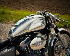 Harley Davidson Sporster 883 Cafe Racer by DK Motorrad #motorcycles #caferacer #motos | caferacerpasion.com