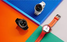 """Motorola's Moto 360 Sport watch is now on sale - f you want the full Android Wear experience on a smart watch, Motorola's Moto 360 Sport is now on sale. It's based on the 42mm version of the regular model, but has a silicon strap that will resist fading, stains and sweat. It's also got the new """"AnyLight"""" display with a front-lit reflective mode that works better in sunlight, and brightens automatically thanks to the ambient light sensor in that infamous black bar."""
