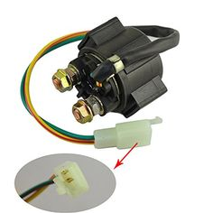 AHL Motorcycle Parts Starter Solenoid Relay for 4-Stroke GY6 Engine 50cc 150cc 200cc 250cc ATV Dirt Bikes Scooters Go Kart Dne Buggys Quad 4 Wheelers Pit Bike Moped Roketa SSR Taotao Sunl Coolster - http://www.caraccessoriesonlinemarket.com/ahl-motorcycle-parts-starter-solenoid-relay-for-4-stroke-gy6-engine-50cc-150cc-200cc-250cc-atv-dirt-bikes-scooters-go-kart-dne-buggys-quad-4-wheelers-pit-bike-moped-roketa-ssr-taotao-sunl-coolster/  #150Cc, #200Cc, #250Cc, #4Stroke, #50C