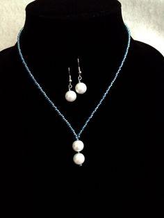 White pearl Choker Set