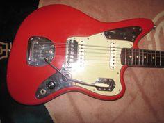 1962 Fender Jaguar Dakota Red.  - Dan Yablonka Vintage Guitars