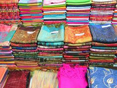 Turkish-textiles,-Istanbul. by bazzah, via Flickr