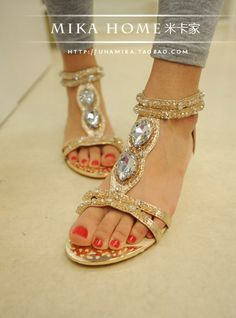 0d31333c96e4f SANDALS WITH BLING BLING