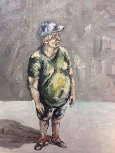 Untitled... Oil-acrilic color on canvas 30x30 cm