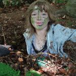 Camouflage fun in the woods #forestschool