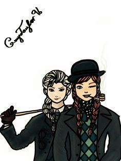 Frozen (AU: Sherlock Holmes)