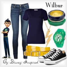 """Wilbur - from Disney's Meet the Robinsons"" by elliekayba on Polyvore"