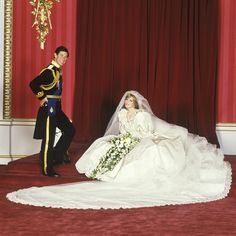 Boda del Príncipe Carlos y Lady Diana #celebrity #wedding #beauty