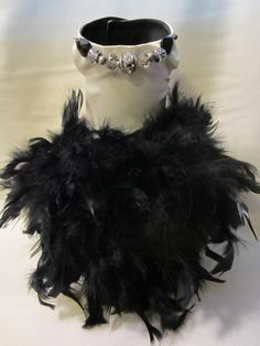 NEW Couture Feather Dog Tutu Dress _ Dog Clothes _ Custom hand-made small breed dog dresses. Made in Michigan : ) This dress exudes sophistication -- your little girl will look spectacular in it! Contact: bratbyfive@gmail.com for ordering