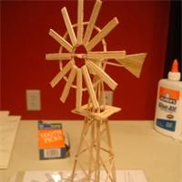 Toothpick Windmill How to make a toothpick windmill
