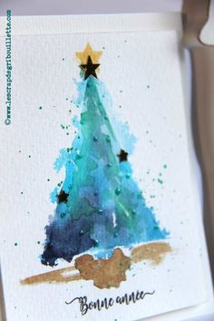 Cards_Small Watercolor Fir_Watercolor Cards - Künstler Cards_Small Watercolor Fir_Watercolor Cards<br> Cards_Small Watercolor Fir_Watercolor Cards Source by LilyGrib Watercolor Christmas Tree, Tree Watercolor Painting, Real Christmas Tree, Watercolor Images, Christmas Paintings, Watercolor Cards, Christmas Art, Simple Watercolor, Tattoo Watercolor