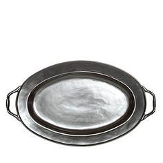 X Juliska Pewter Stoneware Turkey Platter, $248,  Bloomingdales