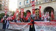 SECCIO SINDICAL UGT SECURITAS CATALUNYA: FOTOS CONCENTRACIÓN BURGOS