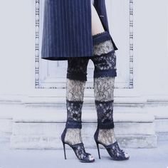 Lace perfection with Liberty Cuissard