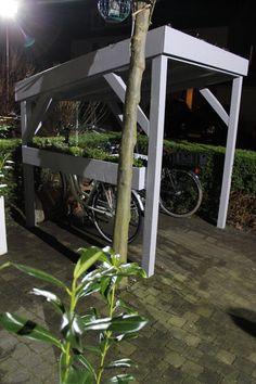 DIY: Groen fietsenhok - Eigen Huis en Tuin