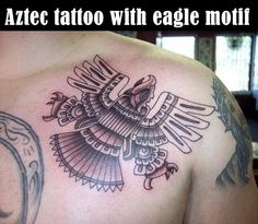 Check out our Inca Aztec Tattoo Designs Gallery. Lots of Inca Aztec Tattoo Designs to get great ideas or browse the Inca Aztec Tattoo Designs Gallery and enjoy. Aztec Eagle Tattoo, Aztec Warrior Tattoo, Aztec Tribal Tattoos, Mayan Tattoos, Aztec Tattoo Designs, Aztec Art, Polynesian Tattoos, Great Tattoos, Body Art Tattoos