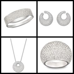 Tell us: which piece of our Stone line do you like the most: Bangle, Earrings, Pendant or Ring?  #SecretTreasures #Swarovski #Padgram