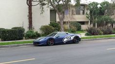 Seattle Superfan Drives Customized Seahawks Ferrari 458 Italia | Bleacher Report