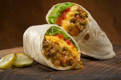Cheeseburger Burritos.. Done in 20 mins