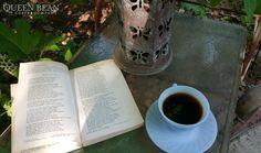 #coffee #garden #relax #Reading #Poetry #UrbanOasis #MillsRoastingCompany #TheQueenBean