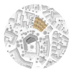 2. Preis Bürgerzentrum: © Bär, Stadelmann, Stöcker Architekten BDA