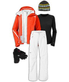 The North Face Women's Ski Outfit: Seasoned Skier