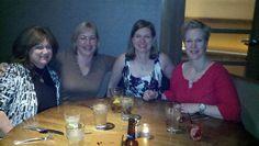 L to R Montlake Romance Authors:: Nancy Naigle, Laurin Wittig, Michelle Willingham, Coreene Callahan