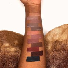 Finally some brown girl swatches of the new @maccosmetics liquid lip color extension!  @browngirlfriendly ❤ #Repost @browngirlfriendly ・・・ • #BrownGirlFriendlySwatches #BGFMAC for all my MAC Cosmetics swatches & posts  by @browngirlfriendly • Swatches of @maccosmetics new Retro Matte Liquid Lipcolour! • I'm obsessed!  I LOVE these new colours!!! Personally, I think any of these could suit so many skin tones  beautifully! Two thumbs way up! Thoughts?? • These are currently available ...