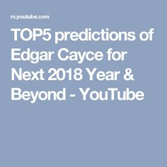 82 best edgar cayce images on pinterest ancient mysteries books here are top 5 real predictions of edgar cayce sleeping prophet for next 2018 and also beyond future time he was right in some predictions fandeluxe Images
