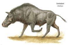 Entelodont. Base a war mount off of this half-pig, half-horse prehistoric beasty.