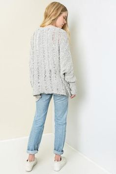 Spring time Cardi with a Boho look and feel.