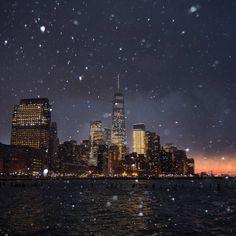 One WTC from Hudson River Park by @maximusupinnyc | newyork newyorkcity newyorkcityfeelings nyc brooklyn queens the bronx staten island manhattan