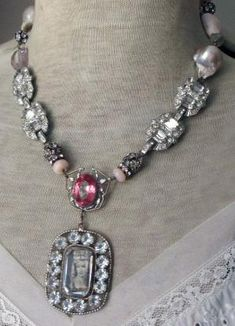 'marie's fantasy' vintage assemblage necklace by The French Circus, $214.00 by stacey