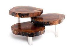 Mesa de centro de madeira rústica - Modelo Coffee - Loja de Móveis de Madeira Maciça. Moveis Rusticos