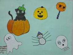 Trabajo inspirado en #halloween y #thanskgiving #americasbicultural #cademyrd #cademy www.cademyrd.com