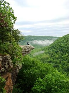 Hawksbill Crag in the Upper Buffalo Wilderness Area... This is next hiking spot in AK!