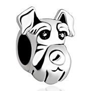 Pugster  Dog Head European Beads Fit Charm by CharmednBeaded, $4.00