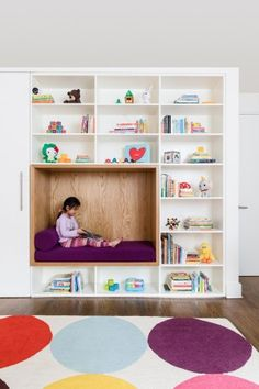 Reading room design for kids bedroom with custom cabinetry and reading nook home decorations collections bamboo . Trendy Bedroom, Kids Bedroom, Bedroom Decor, Bedroom Seating, Bedroom Furniture, Master Bedroom, Bedroom Interiors, Gray Bedroom, Design Bedroom