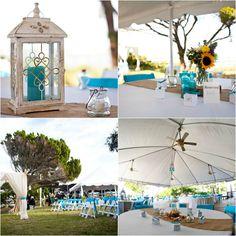 St. Augustine Yacht Club Reception. Sun and Sea Beach Weddings.