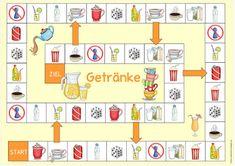 """Ideenreise: Spielfeld """"Getränke"""" für DaZ"""