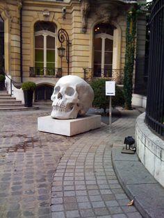 Parisian Skull Garden