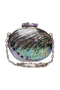 iridescent celestina maricel soriano paua shell evening bag